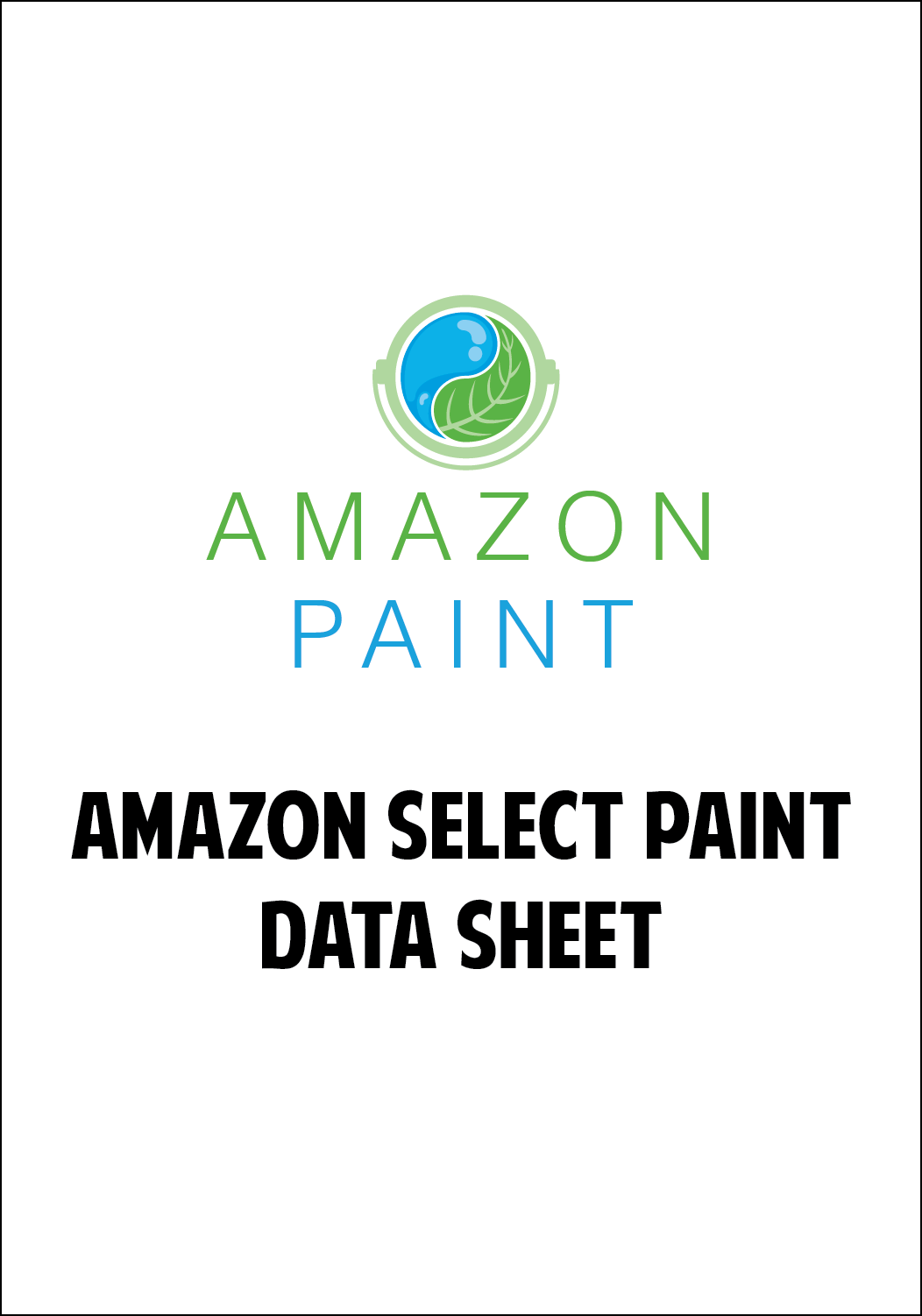 Amazon Select Paint Data Sheet